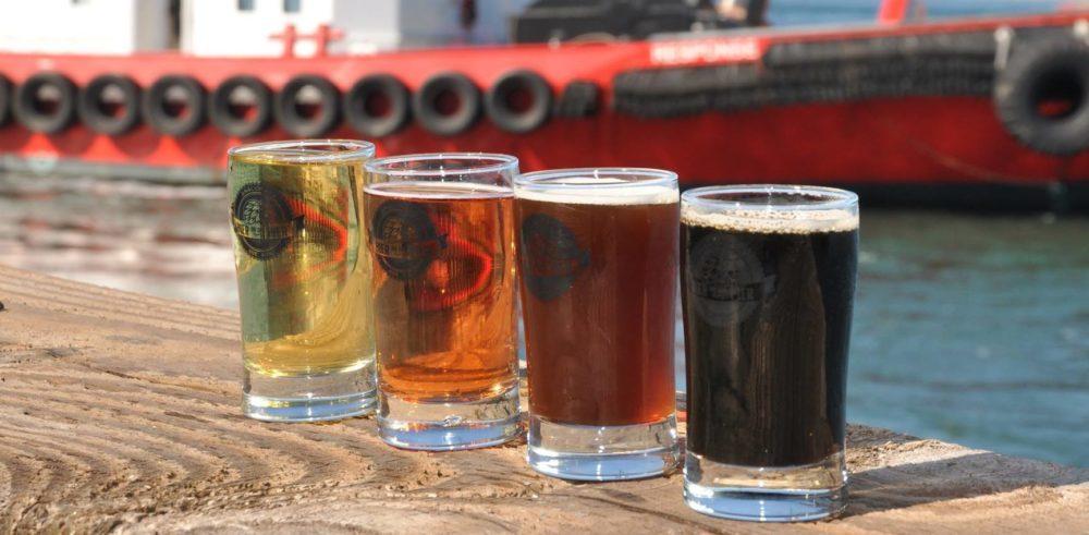 Anacortes Bier on the Pier